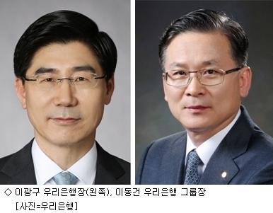 우리은행 행장, 이광구·이동건·김승규 3파전