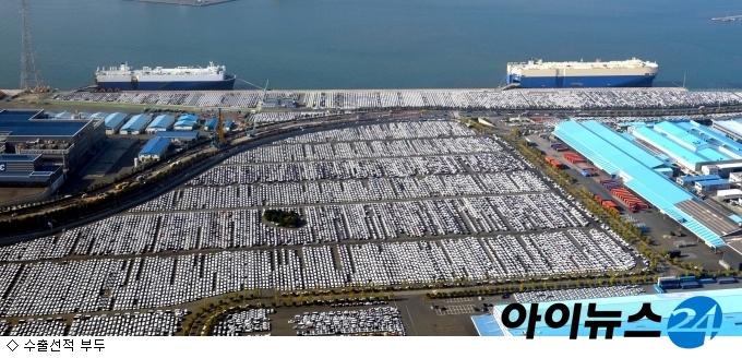韓 연간 무역액 1조 달러 돌파…3년 만에 재진입