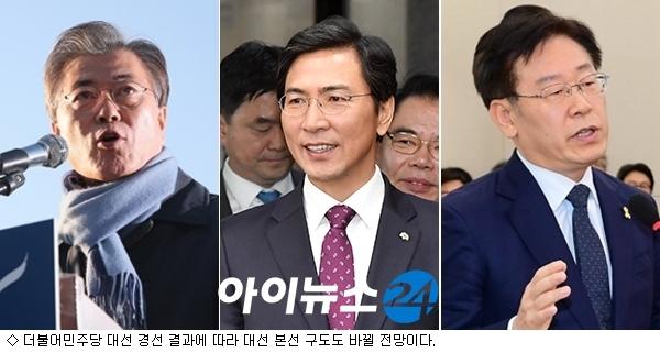 ''대세론'' 민주당 대선 경선, 대선 본판에도 영향