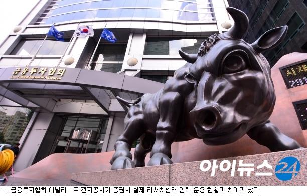 65명 vs 28명…애널리스트 수 격차 원인은?