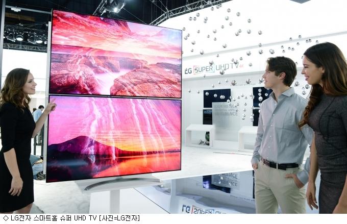 [TV 혁신경쟁]TV, IoT 스마트홈 '허브' 안착