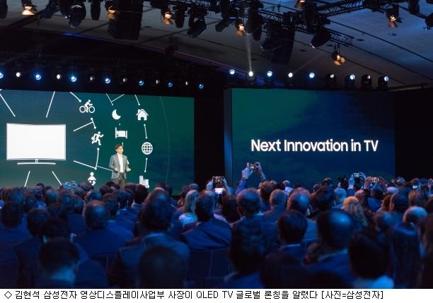 [TV 혁신경쟁]3세대 퀀텀닷 TV, 글로벌 시장 선도