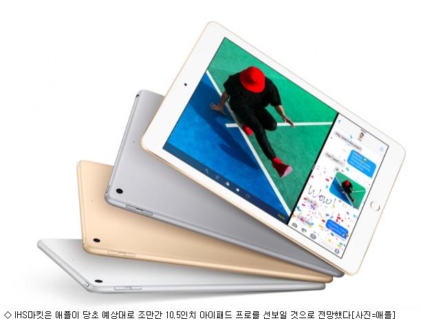 애플 10.5인치 아이패드 출시할까?