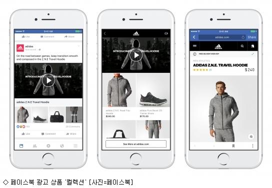 페이스북, 이미지·동영상 묶은 광고 상품 출시