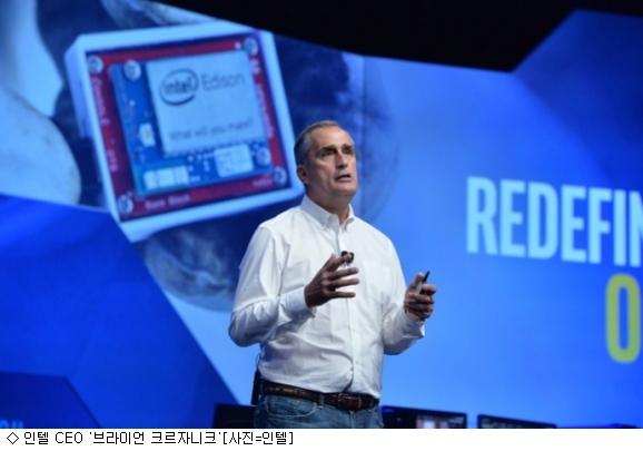 인텔 1분기 매출·순익증가에도 주가하락…왜?