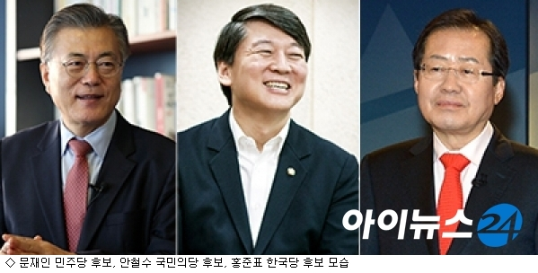 '대선 중반전', 文·安·洪 캠프 선거 전략은?