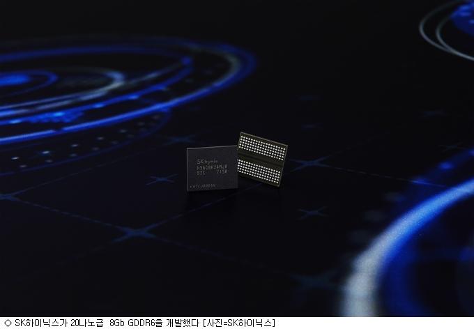 SK하이닉스, 20나노급  8Gb GDDR6 개발