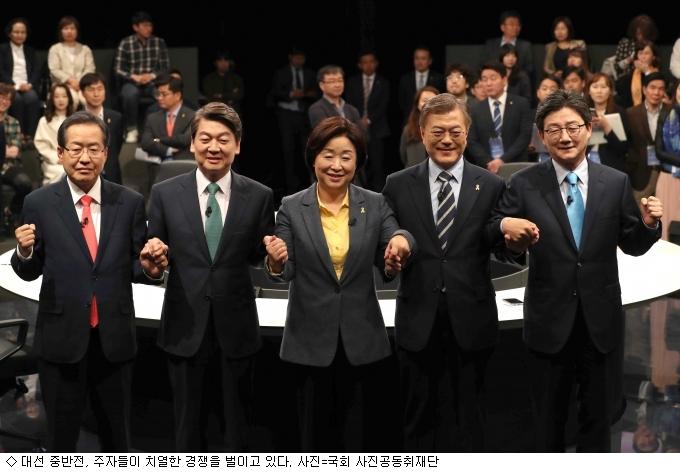 [브리핑] ''文 1강'' 대선 중반전, 코스피 2200돌파