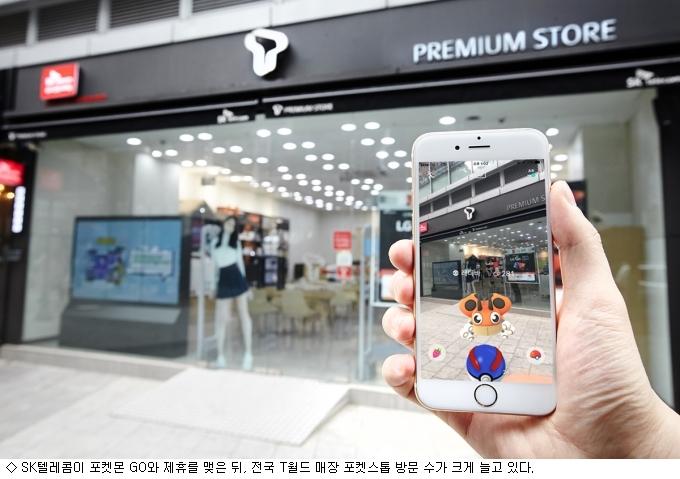 ''포켓몬 GO'' 효과…10~20대 SKT 호감도 ''껑충''