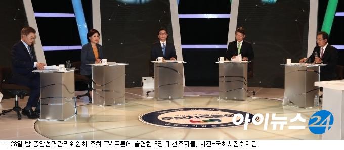 대선주자 5人, 경제활성화·증세 놓고 ''격돌''