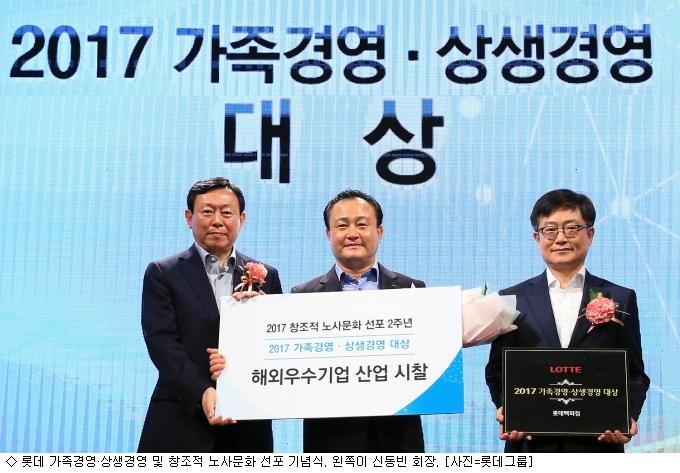 신동빈 롯데 회장, 5년간 7만명 ''일자리 창출''