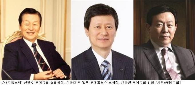 롯데 신동빈 시대…신격호, 日 경영서 퇴진