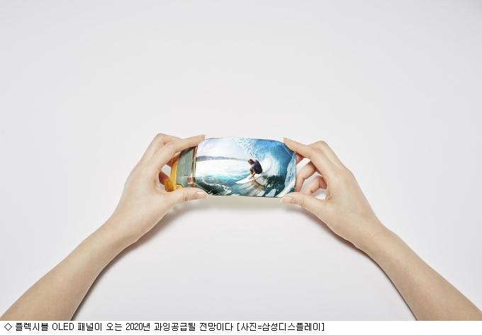 부족한 ''플렉시블 OLED'' 3년후