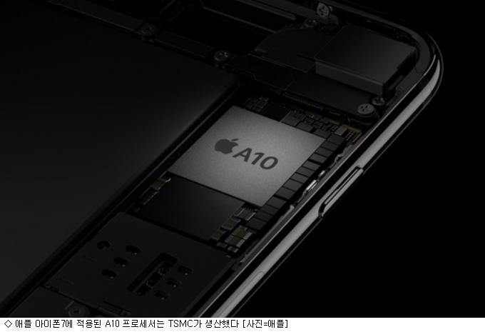 """""""애플 잡아라"""" 삼성전자 vs TSMC 'A12' 혈투"""