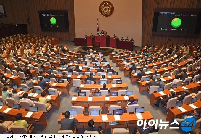'천신만고' 11조300억 추경안 국회 통과