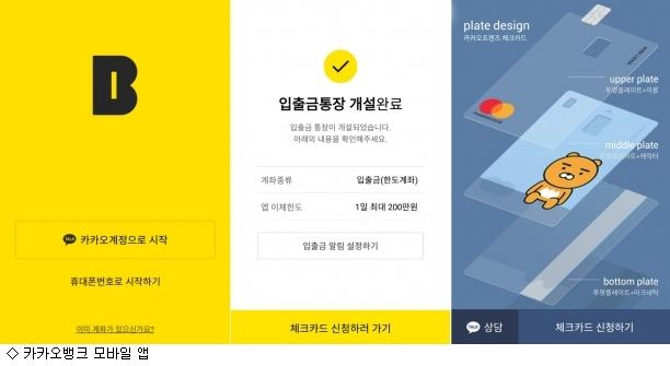 카카오뱅크, '지옥철'서 9분만에 계좌 '뚝딱'