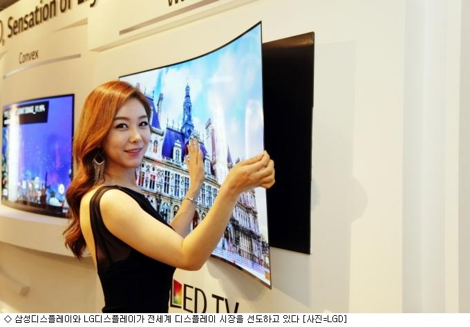 삼성·LG ''OLED'' 주도권 지키기…중국 ''맹추격''
