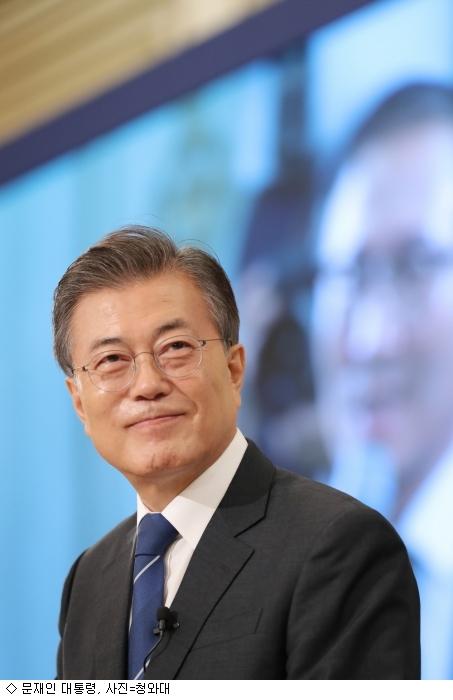 文 대통령, 청년 일자리·저출산 등 공개 입장 밝혀