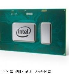 인텔, 8세대 프로세서 공개…핵심은 ''쿼드코어''