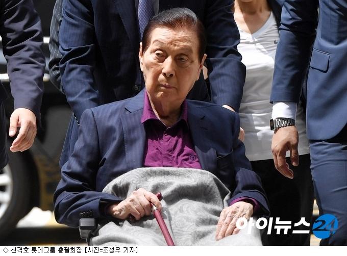 ''신격호 거처'' 롯데家 갈등…法, 21일 실사