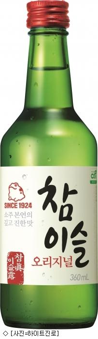 참이슬, 가장 많이 팔린 증류주 16년 연속 1위
