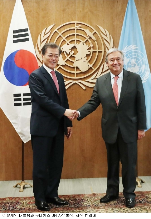 文 대통령, UN 북핵 중재 요청…해결책 될까