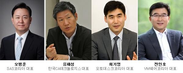 외국계 SW기업 한국지사장 ''세대교체''