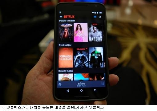 넷플릭스, 오리지널 콘텐츠 인기에 매출 30%↑