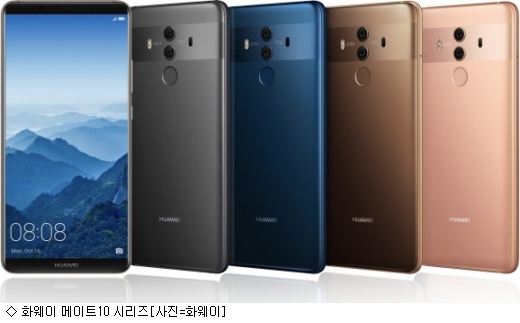 화웨이, 新전략폰으로 애플·삼성 조준