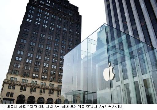 애플, 자율주행차 '사각지대' 해결책 찾았다
