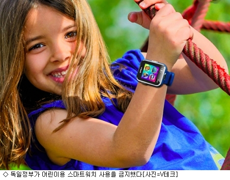 독일, 어린이 스마트워치 착용금지…왜?