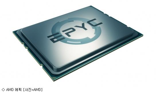 AMD, AI 시동…'에픽 CPU' 등 시스템 공개