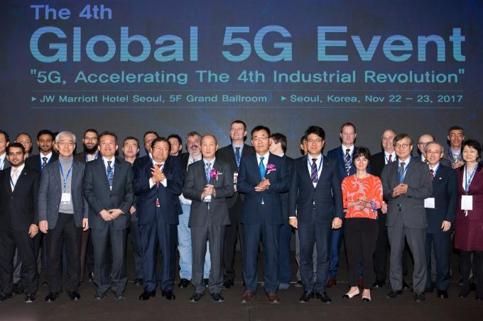 전 세계 5G 전문가 한국 온다…글로벌 5G 행사