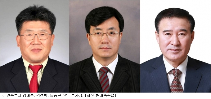 현대중공업그룹, 후속 인사…신규 부사장 3명