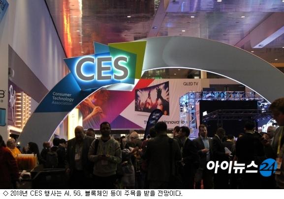 2018년 CES서 주목할 기술은?