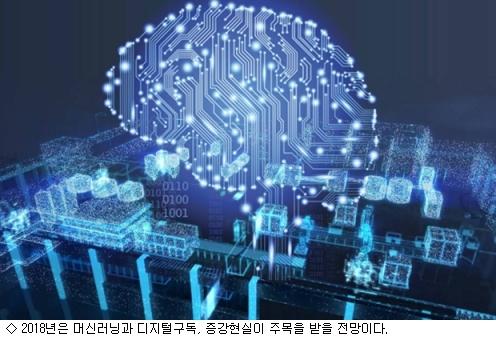 2018년 AI·디지털 구독·AR이 대세