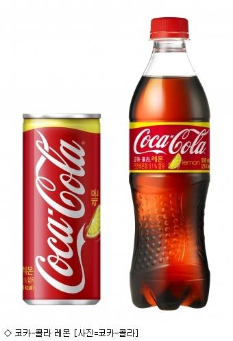 코카-콜라, 상큼한 레몬향 담은 '코카-콜라 레몬' 출시