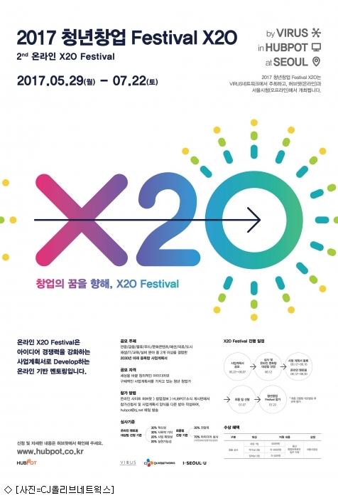 CJ올리브네트웍스, 청년창업 아이디어 페스티벌 개최