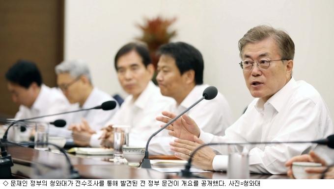 朴 정권 정책조정실 문건서도 삼성물산 합병 내용 발견