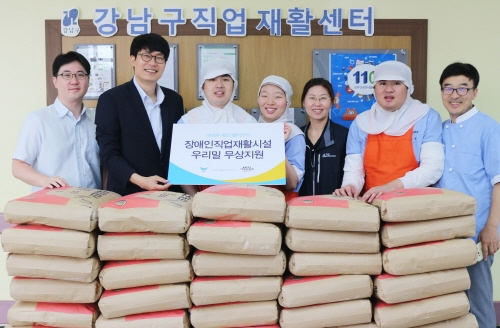 SPC그룹, 장애인 제과제빵 작업장에 우리밀 무상 지원