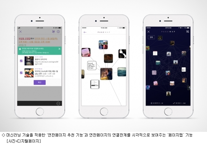 디지털페이지, 스마트앱어워드 3년 연속 수상