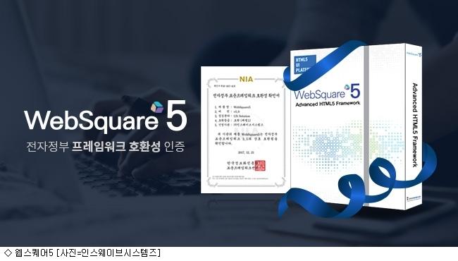 인스웨이브 웹스퀘어5, 전자정부 표준프레임워크 호환