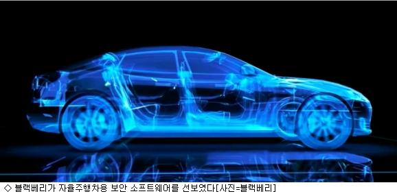 블랙베리, 자율주행차용 보안 SW로 성장동력 찾기