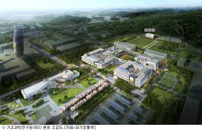 기초과학연구원(IBS) 대전 본원 개원