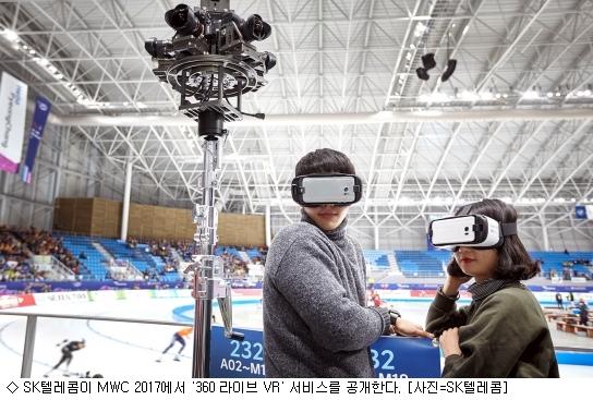 SK텔레콤, 초고화질 '360 라이브 VR' 공개