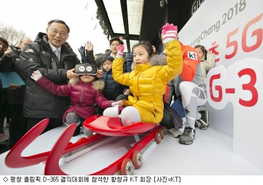 [평창올림픽 G-1](중) 5G 신기술 대향연