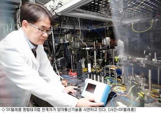 SK텔레콤 양자기술, 글로벌 진출 '속도'