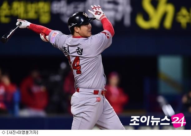 '최정 3점포' SK, 거침 없는 5연승 질주