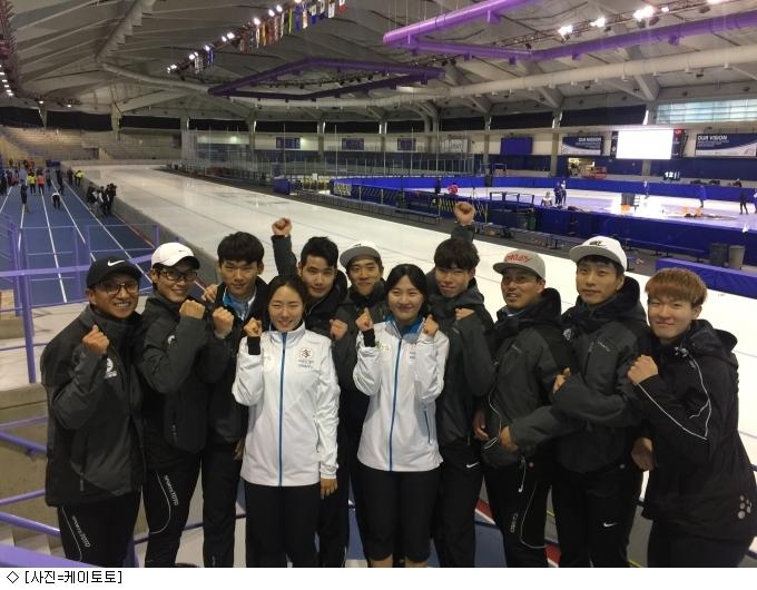 스포츠토토 빙상단, 캐나다 전지훈련 성공적으로 마쳐