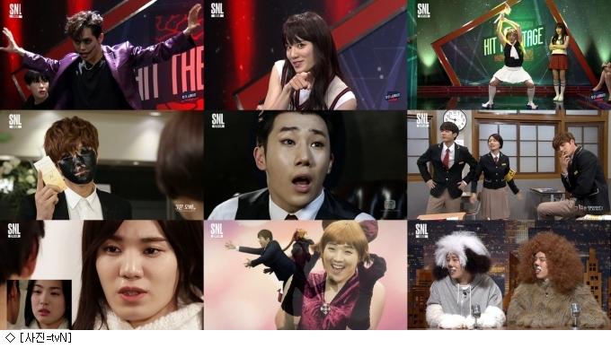 인피니트 효과, 'SNL코리아8' 3주연속 최고시청률 경신